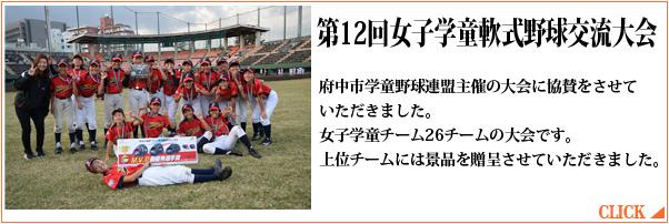 第12回女子学童軟式野球交流大会