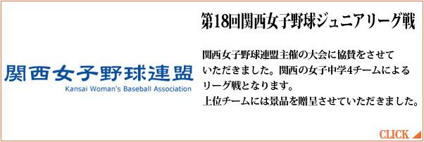 第18回関西女子野球ジュニアリーグ戦