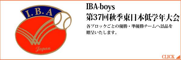IBA-boys第37回秋季東日本低学年大会