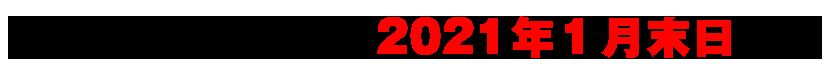 キャンペーン期間:2021 年 1 月末日まで