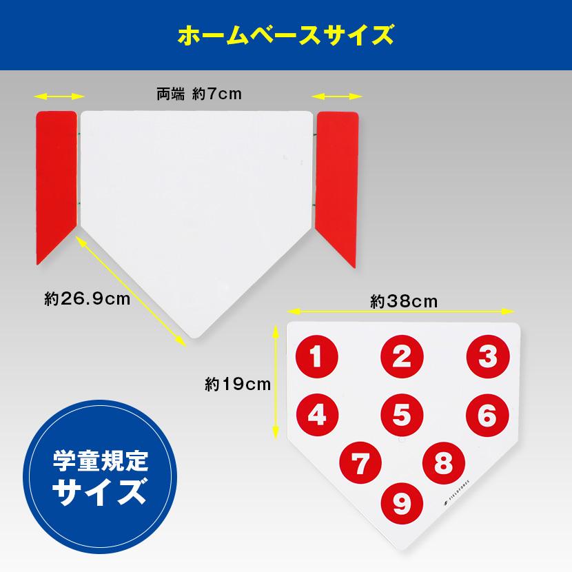 ベース サイズ ホーム ソフトボールのグラウンドのサイズ【サイズ.com】