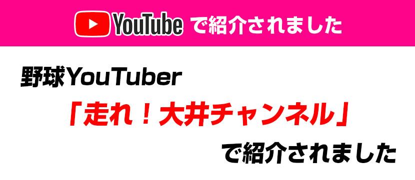 YouTubeで紹介されました