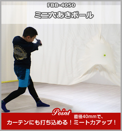 ミニ穴あきボール FBB-4050